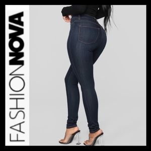 NWOT Fashion Nova High Waist Skinny